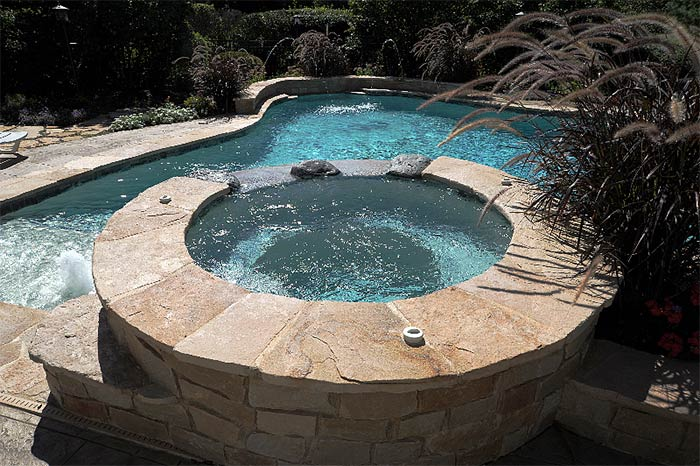 Natural Stone Spa Builder