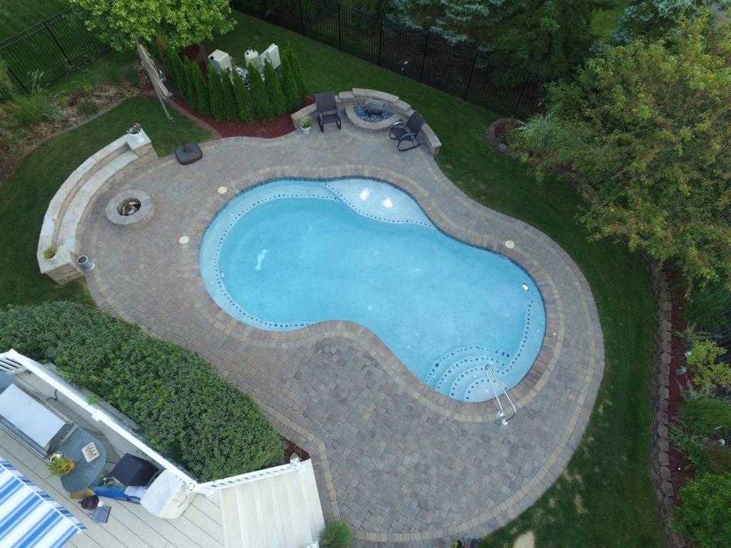 Custom Freeform Shotcrete Pool designed by All Seasons Pools & Spas, Inc.