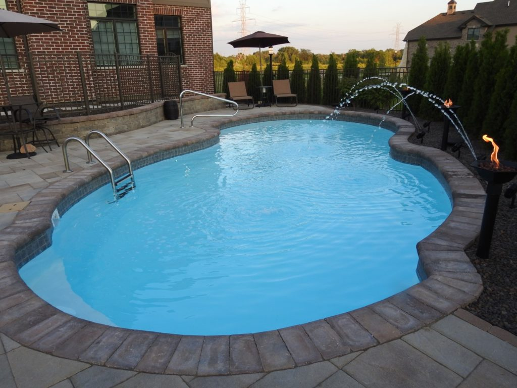 Check out Fiberglass Pool designed by All Seasons Pools & Spas, Inc.