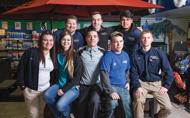 Team of All Seasons Pools & Spas, Inc.